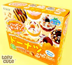 Happy Kitchen is part of the Popin' Cookin' range, the amazing DIY make-your-own candy from Japan. Japanese Snacks, Japanese Candy, Japanese Sweets, Japanese Food, Candy Drinks, Dessert Drinks, How To Make Jelly, Making Jelly, Jelly Cookies