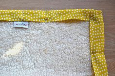 cozette*: Subliminale boodschap tutorial bies babydeken zonderkeergat