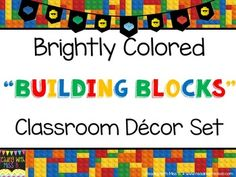 "This GROWING BUNDLE will be constantly evolving, adding all the fabulous things you may need to decorate and prepare for a ""building blocks"" classroom. Currently included in this bundle:- ""AWESOME"" Banner- Birthday Banner and Bulletin Board Pieces- Classroom Rules (various options)- Alphabet- Numbers- Behavior Chart- Black & White LOW INK Binder Covers- Schedule Cards- ""Welcome To"" (all grades) Sign- Teacher Toolbox Labels (purchase separately here)- Behavior Management System (purchase…"