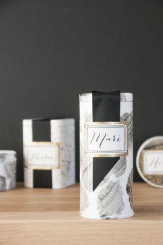 giftable DIY tea tin