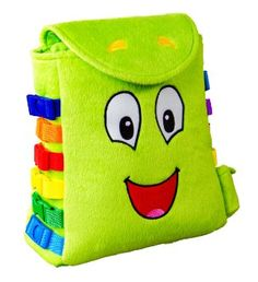 Educational Colourful Learning Plush UK stock New Original Buster Buckle Toy