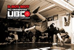 B boy MOY @ The UNDISPUTED Ultimate B boy Championship (NYC) STRICTLY CONCRETE. Stay tuned for Video coming soon on  www.ubcsports.com Photo by MARTHA COOPER