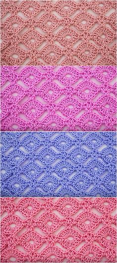 How To Crochet Circle Stitch