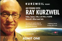 """Raymond """"Ray"""" Kurzweil (/ˈkɜːrzwaɪl/ kurz-wyl; born February 12, 1948) is an American author, computer scientist, inventor and futurist. Aside from futurology, he is involved in fields such as optical character recognition (OCR), text-to-speech synthesis, speech recognition technology, and electronic keyboard instruments. He has written books on health, artificial intelligence (AI), transhumanism, the technological singularity, and futurism. Kurzweil is a public advocate for the futurist and…"""