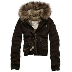 Abercrombie and Fitch Womens Coat Jackets 017