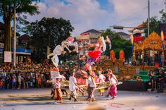 Home to bustling markets, beachfront bars and vibrant nightlife, Bali isn't particularly known for its moments of downtime - except during Nyepi.
