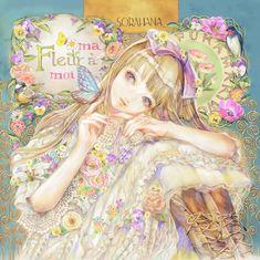 ma fleur à moi  by  夜汽車  http://www.pixiv.net/member_illust.php?mode=medium&illust_id=43042669