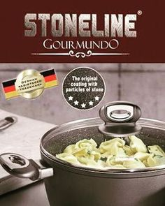 """Stoneline - The original with real stone particles Healthy,non-fat cooking and frying """"winner Red Dot Award 2015"""" Any enquiry please contact us Line id : Kochsolutionhouse  #stonelineindonesia #stonelinegourmundo #stonelinegermany #kochsolutionhouse #kochhaus_id #cookware #kitchenware #cooking #frying #healthy #nonfatcooking #nonfatfrying #nonstick #realparticlestone  Yummery - best recipes. Follow Us! #kitchentools #kitchen"""