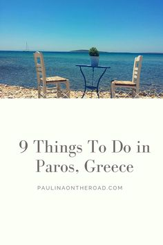Discover 9 Top Things to Do on Paros Island, Greece. How to get there, where to stay, outdoor activities and excursions to Santorini and Mykonos. And of course the best food on the island.