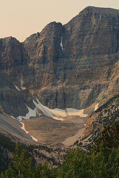 Wheeler Peak and Glacier, Great Basin National Park; photo by .I-Ting Chiang