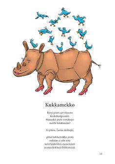 Kukkamekko (Jari Tammi: Nakkikirja, Pikku-idis 2013) Early Education, Working With Children, Riddles, Pre School, Finland, Winnie The Pooh, Disney Characters, Fictional Characters, Literature