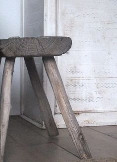 how rustic is this stool....