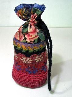 Eastern Treasure. A folk bag by Peony And Parakeet.