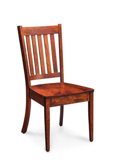 Wright Side Chair, Wood Seat, Character Cherry #26 Michaelu0027s From Simply Amish  Furniture