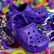 Take a look at the Crocs Kids event on #zulily today! Wonder if she would like these instead of flips!