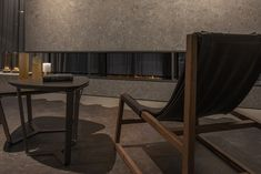 Discover a selection of fireplaces designed with #Inalco's #MDi surfaces.