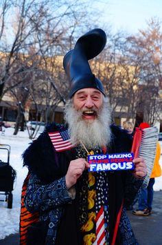 "darkporc: "" Preach it, brother Vermin Supreme! """