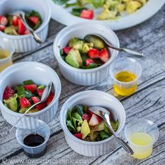 Strawberry Spinach and Avocado Salad; My Experiments | Low-Carb, So Simple!