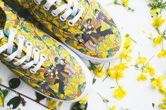 The Beatles. Vans. Yellow submarine. Sneakerhead. Mancave art, skateboard. Music.