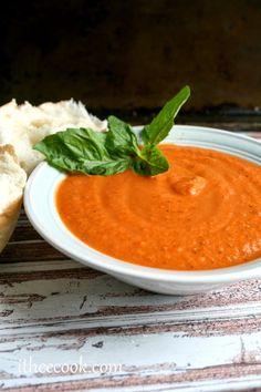 creamy tomato bisque soup
