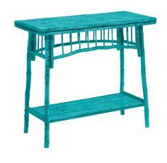 Kenian Bamboo Coastal Console Table <3