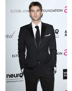 Chace Crawford   After years of epitomizing Manhattan WASP-iness on Gossip Girl, Crawford has acquired a real-life wardrobe to match—an endless rotation of covetable monochromatic suiting that looks, well, expensive. His wilder touches (like this knit-tie-and-tux combo) aren't exactly the most rule-shattering, but experimentation just seems so...new money, no?