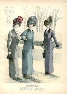 Gracieuse. Geïllustreerde Aglaja, 1910, aflevering 22, pagina 356/5
