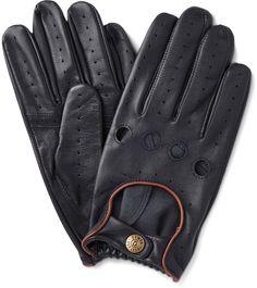 Pin for Later: 50 kreative (& teils auch ganz praktische) Geschenkideen für Papa  Dents Delta Driving-Handschuhe aus schwarzem Leder (85 €)