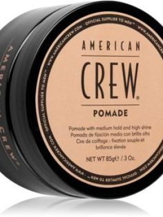 American Crew Styling Pomade alifie pentru par lucios 85 g American Crew, Modern Hairstyles, Quick Hairstyles, Mens Pomade, Dry Hair, Grease, Hair Type, Hair Lengths