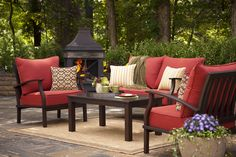 Bring comfort and style to your patio with the allen + roth customizable collection.