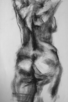 RISD Artistic Anatomy course, Figure study in charcoal, x Human Anatomy Drawing, Human Figure Drawing, Body Drawing, Anatomy Art, Life Drawing, Drawing Faces, Manga Drawing, Drawing Tips, Abstract Charcoal Art