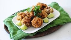 Bacon Alfredo Mac and Cheese Bites- Fried cheesy Alfredo mac and cheese balls – a delicious appetizer!
