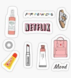 Vsco stickers featuring millions of original designs created by independent artists. Decorate your . Stickers Cool, Bubble Stickers, Phone Stickers, Journal Stickers, Planner Stickers, Macbook Stickers, Tumblr Sticker, Homemade Stickers, Wallpaper Stickers