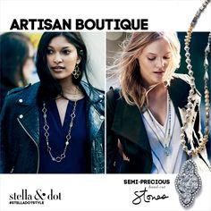 the artisan boutique   semi-precious stones F A L L  C O L L E C T I O N
