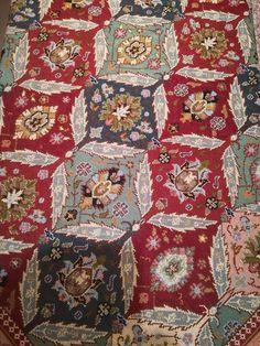 Cross Stitching, Cross Stitch Embroidery, Cross Stitch Patterns, Art Deco Fashion, Bohemian Rug, Pillows, Rugs, Places, Farmhouse Rugs