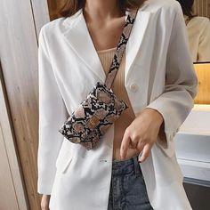 Waist Belt Pouch Snake Print Handbag Regular price $23.84 Belt Pouch, Best Handbags, Waist Pack, Snake Print, Casual, Model, Ss, Collection, Fashion