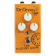 Dr. Green by Hayden The Waiting Room Digital Delay Pedal - Musical Instruments, Pro Audio / Video & Photography Gear - MyGearMonster.com