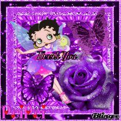 Thankyou- Betty Boop Thank You Challenge