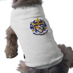 SAE Coat of Arms Color Dog Clothes from http://www.zazzle.com/sigma+alpha+epsilon+gifts