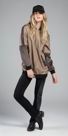 Blusão - Alfaiataria Polish e Malha Velour Dandi #sportwear #veludos #malhasaveludadas #micropadronagens #alfaiataria