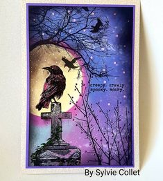 Tampons, I Card, Creations, Scrap, Crafty, Halloween, Handmade Cards, Inspiration, Favorite Recipes