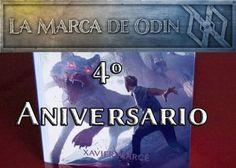 ¡La Marca de Odín celebra su 4º aniversario de lanzamiento! #transmedia #libros #ebooks