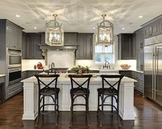 Kitchen Cabinet Design - CLICK THE PIC for Lots of Kitchen Ideas. #cabinets #kitchenorganization #kitchendesign