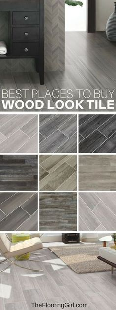 Best places to buy tiles that look like wood.  Wood looking tile.
