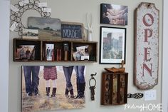 VintageCollectedGalleryWall thumb Tutorial: How to Plan a Gallery Wall