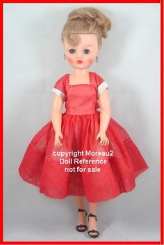 Nanette Doll 1957 she is just like the doll I had and loved