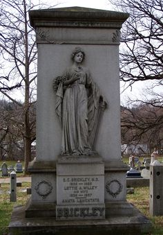 Marker- Brickley in Prospect Hill Cemetery in York, PA