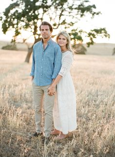 Photography : Jose Villa Photography Read More on SMP: http://www.stylemepretty.com/2016/09/18/santa-ynez-engagement-shoot/