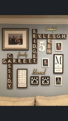 Pin on Spring Home Projects Pin on Spring Home Projects Family Wall Collage, Family Wall Decor, Room Wall Decor, Living Room Decor, Fall Home Decor, Diy Home Decor, Rustic Decor, Farmhouse Decor, Country Decor