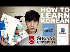 How I Learned Korean - YouTube